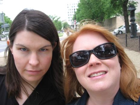 my mom and Janice