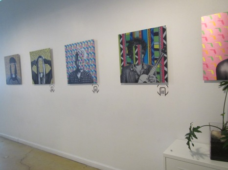 Local artists work is displayed in The Lab