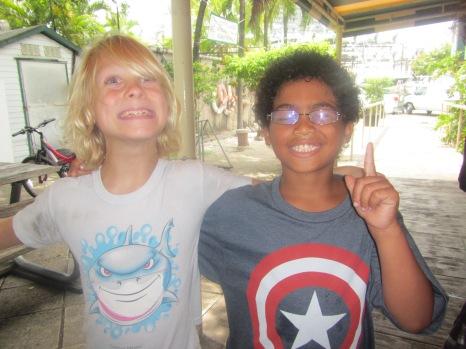 Finn and William