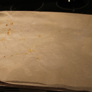 use parchment paper in the oven sheet so they don't stick