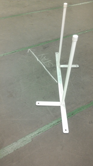 2 x 2 weave pole