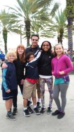 Finn, me, William, Jason, Keilyn, and Becca
