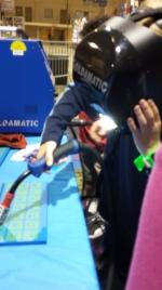 Finn and William doing Virtual Welding