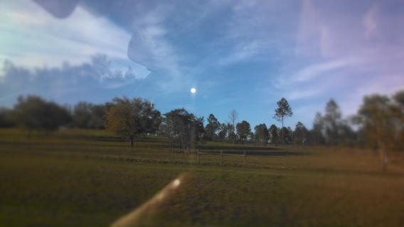 The scenery was so pretty