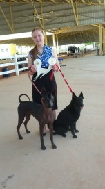 winning group 4 owner handler with both dogs