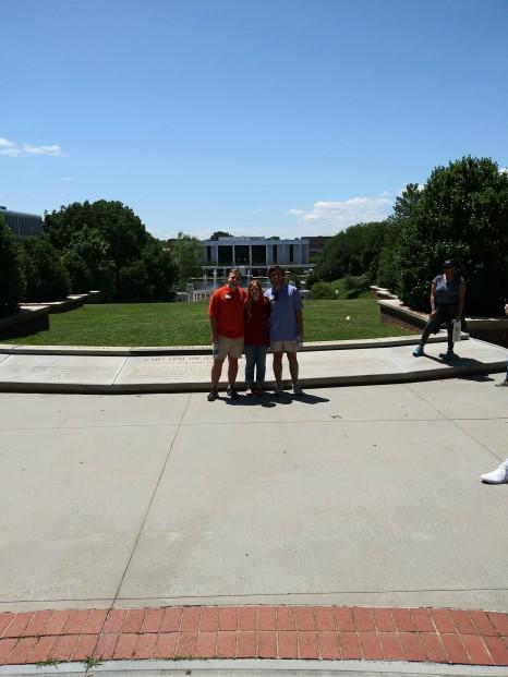 clemson college tour