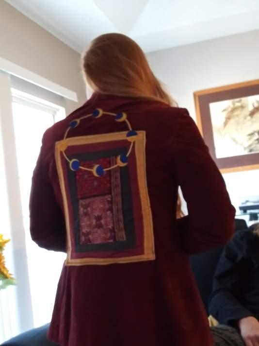 My amazing jacket I got for Christmas.