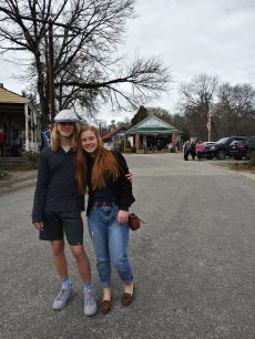At the Whistle Stop Cafe in GA, from the movie Fried Green Tomatoes